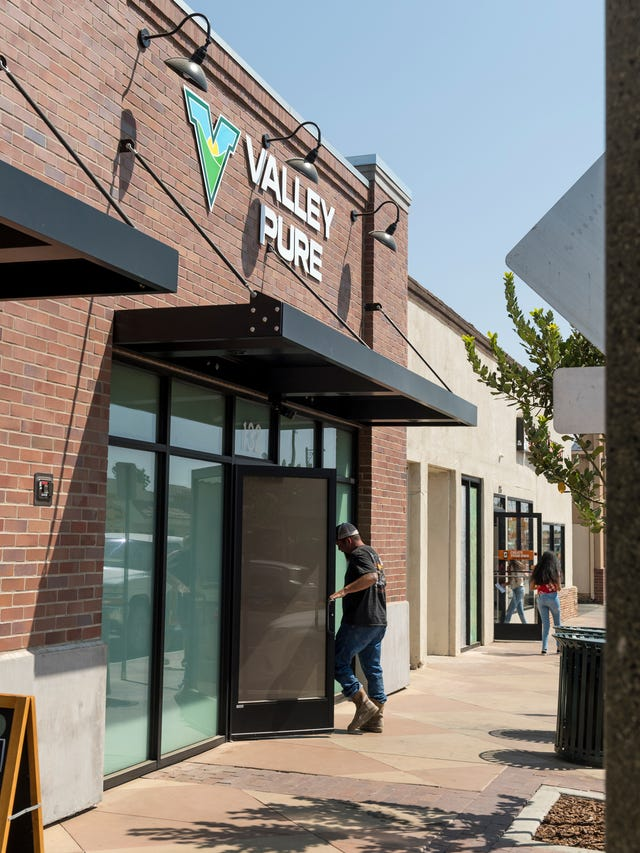Woodlake starts reaping the benefits of pot