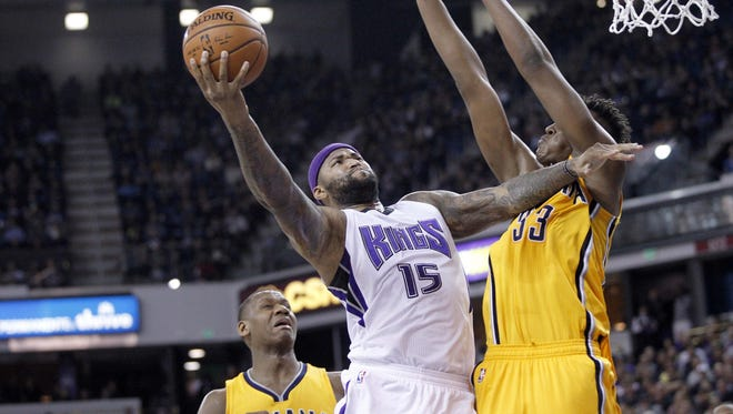 Sacramento's DeMarcus Cousins scored a career-high 48 points against the Pacers Saturday night.