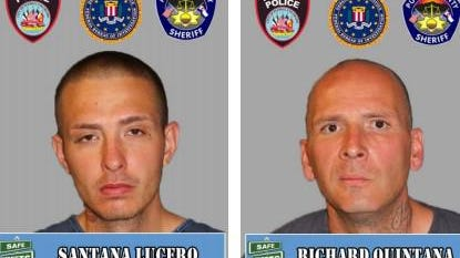 Information leading to the arrest of these fugitives could be worth a cash reward, through Pueblo Crime Stoppers.