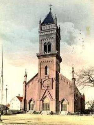 St. Aloysius Church (later St. Mary's) in Dover.