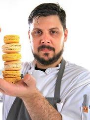 Cerulean pastry chef Peter Schmutte shows off vanilla