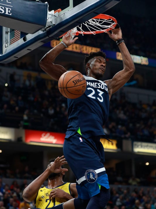 Jimmy Butler, Thaddeus Young