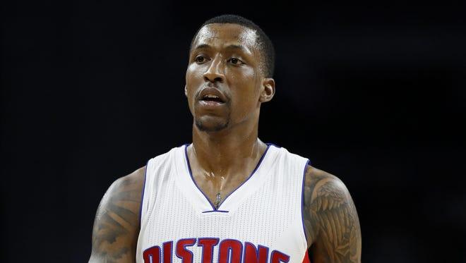Pistons guard Kentavious Caldwell-Pope.
