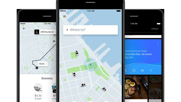 For the first time, business travel expenses for ride-hailing