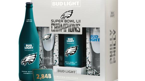 Eagles Bud Light Commemorative Pack