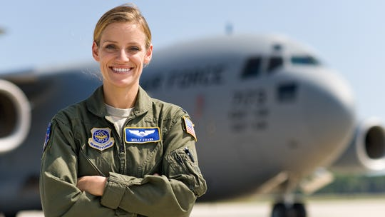 First Lt. Molly Frank, 3rd Airlift Squadron C-17 Globemaster