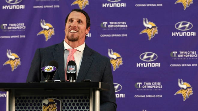 Chad Greenway retired from the NFL last March, citing future health as one of the considerations.