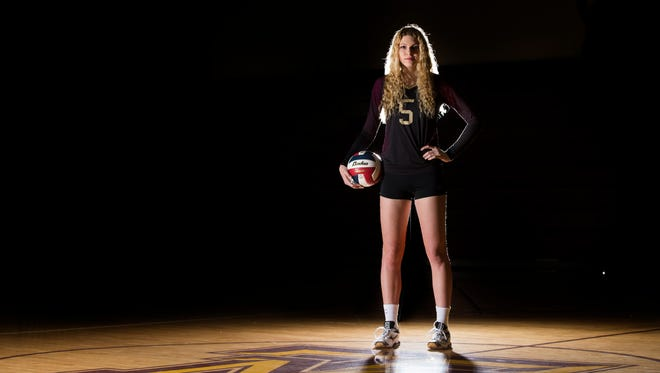 All-South Texas Volleyball Most Valuable Player Bethany Clapp