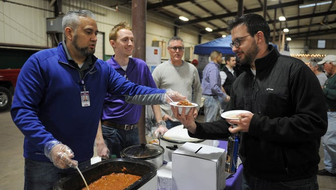 Turn up the heat on your weekend at the Friday's Falls Chili Cookoff benefitting the United Way.