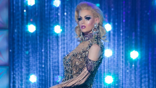 """Blair St. Clair competes during the 10th season of """"RuPaul's Drag Race."""""""