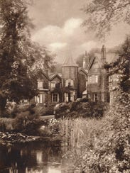 York Cottage on the royal Sandringham estate in Norfolk, England, in about 1937.