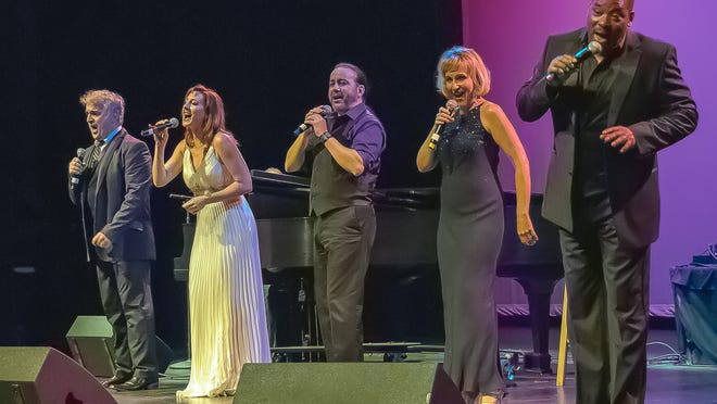 """Six Broadway performers will sing hits with a live band during the """"Neil Berg's 100 Years of Broadway"""" show at Civic Hall. Their October 2015 show will open the 2015-16 season."""
