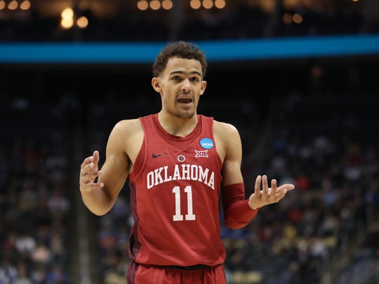 Oklahoma guard Trae Young could be available when the Knicks pick.