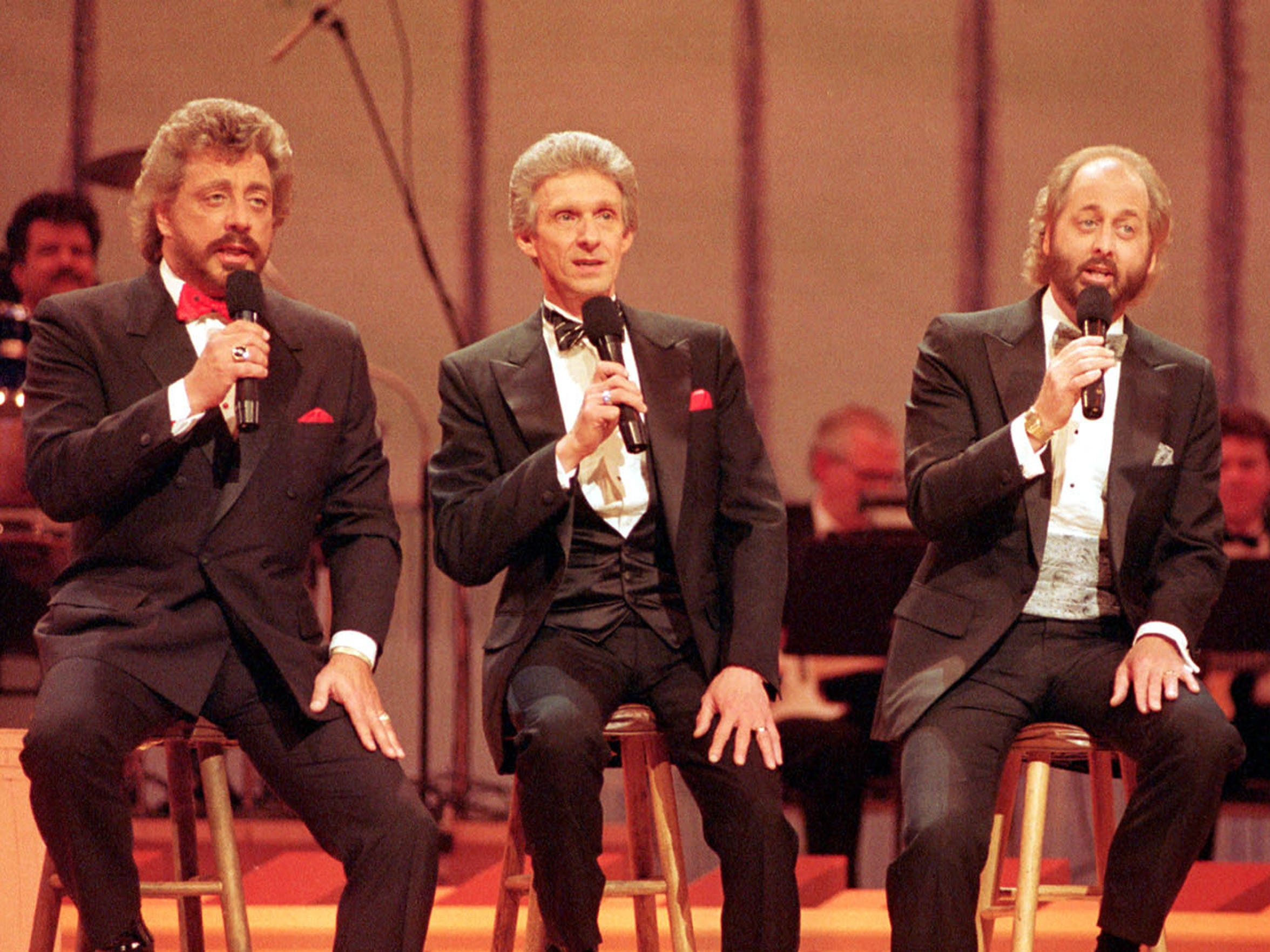 The Statler Brothers, from left, Harold Reid, Phil