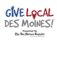 Give Local Des Moines on May 3