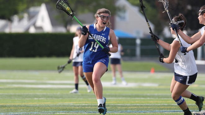 Middletown senior Regan McEnroe helped lead the girls lacrosse team to the Division II title last season. The Islanders didn't get a chance to repeat.