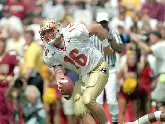 Chris Weinke led Florida State to a national title season in 1999.