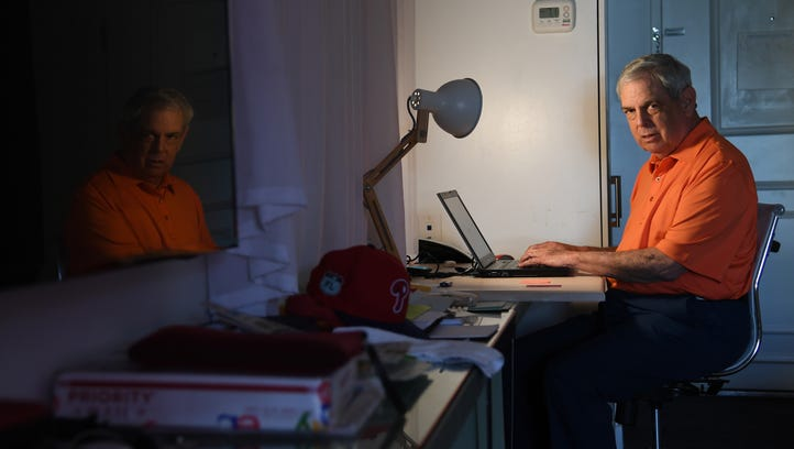 A baseball scout and his hotel room: A love story spanning four decades