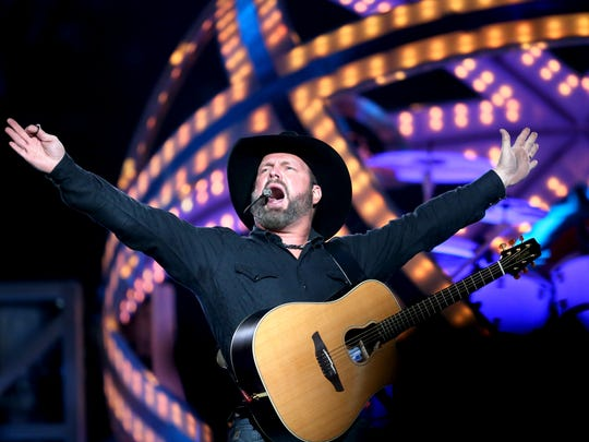 Garth Brooks performs his first show of four concerts at FedExForum.