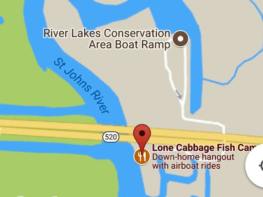 The area where the boaters went missing was the River Lakes Conservation Area.