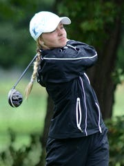 Sydney Bradford was Hartland's No. 1 golfer last season when the Eagles qualified for their first state tournament.