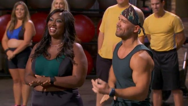 """Sulaver is helping contestant La'Tasha Givens reach her goal of losing more than 50 pounds on """"My Diet is Better Than Yours."""""""