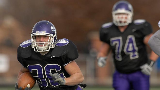Mount Union running back Nate Kmic (36) was a sophomore in 2006 when the Purple Raiders were looking to defend their national championship.