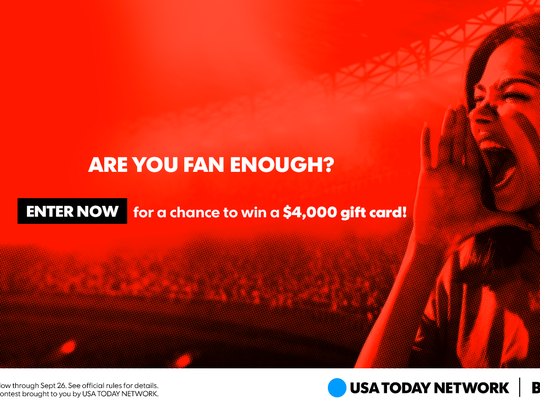 USA TODAY Network's Best Fan Ever contest
