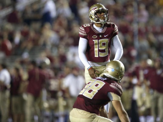 Florida State kicker Roberto Aguayo was drafted by Tampa Bay with the 59th overall pick of the 2016 NFL Draft.