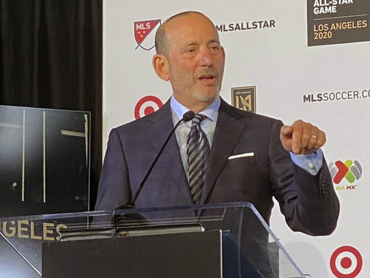 Major League Soccer Commissioner Don Garber