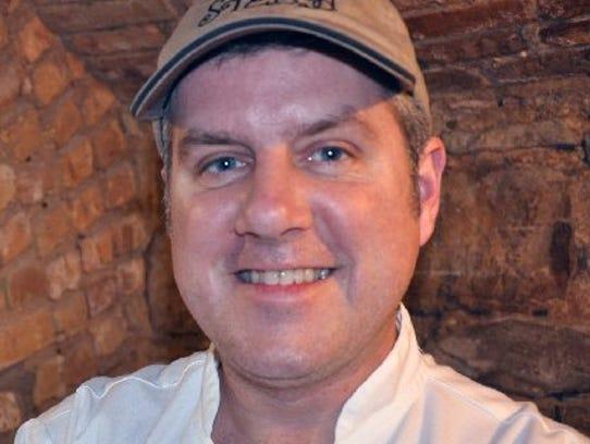 Chef Myles Anton of Stella Trattoria in Traverse City