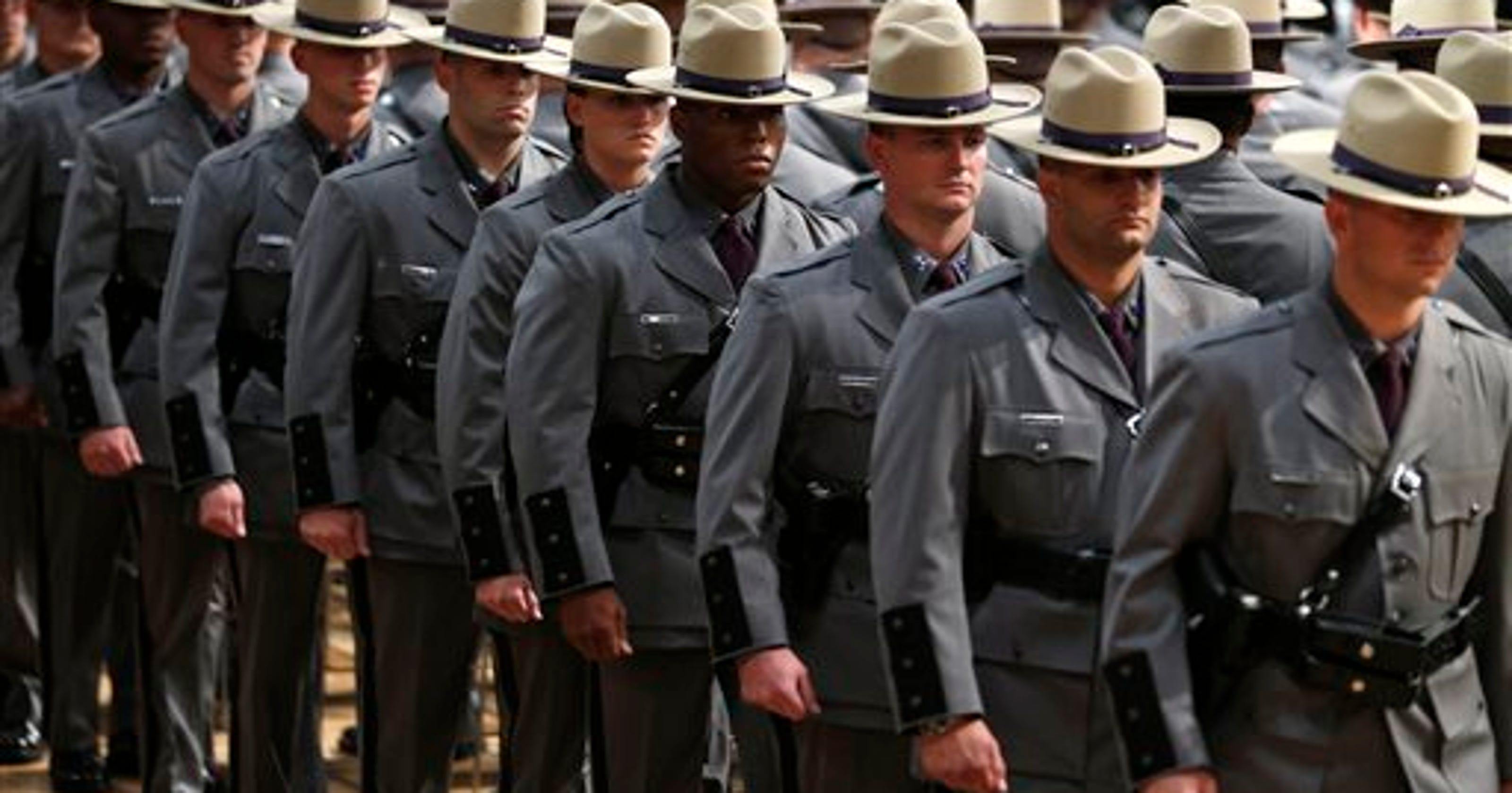 Meet your new 168 state troopers