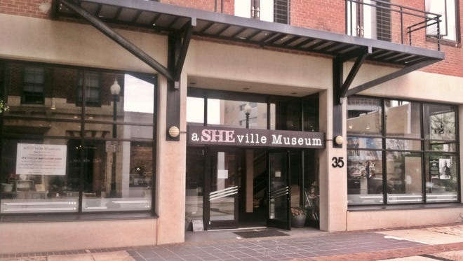 aSHEville Museum on Wall Street.