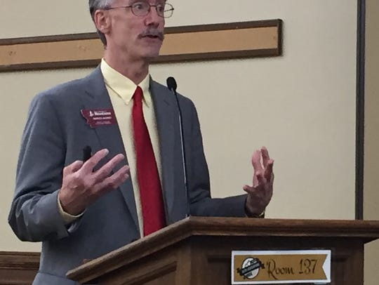 Patrick Barkey,of the Bureau of Business and Economic