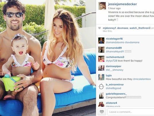 Eric And Jessie Instagram Eric And Jessie James Decker