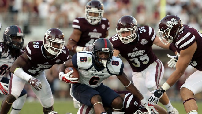 Mississippi State's defense allowed 41 points and more than 600 yards to Samford last week.