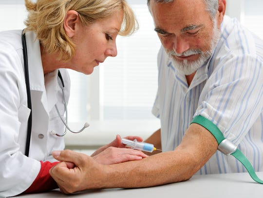 Each year, when your doctor orders blood work, he or
