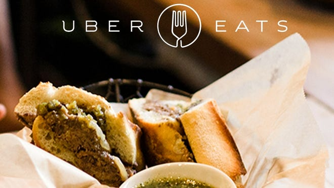 UberEats launches as a standalone app this month in 10 U.S. cities, offering access to hundreds of restaurants.