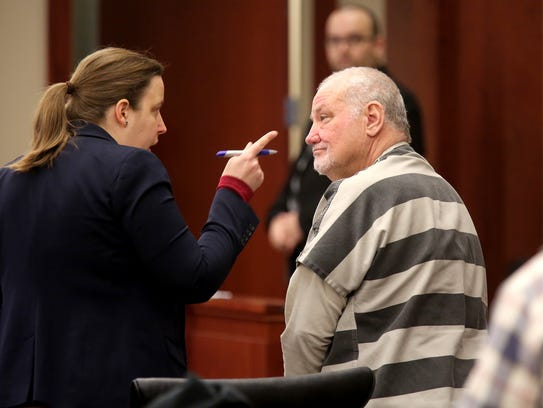 Tim Nolan goes in front of Judge Kathleen Lape with