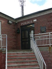 The West Milford Police Department's front entrance as seen on Nov. 22, 2016.