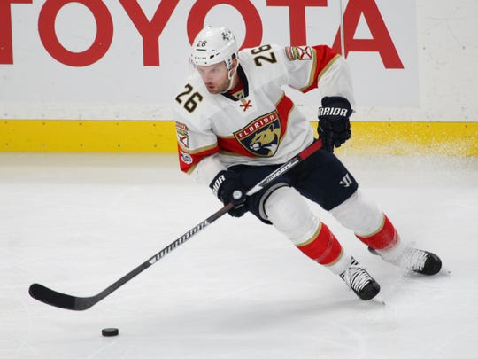 Thomas Vanek, 33, was traded to the Panthers for defenseman