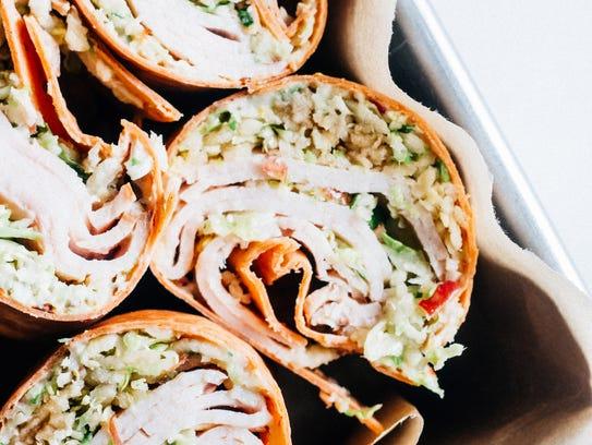 Honey Mustard Turkey and Broccoli Wraps (Photo: Chelsea Zwieg)
