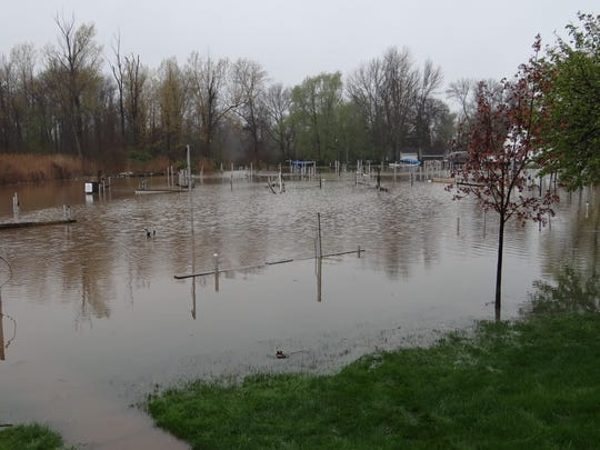 """With submerged docks on Sandy Creek, it was impossible for members of Brockport Yacht Club to hold their annual club launch on Saturday, May 6. """"After we get everything stabilized, we'll work on our plan to salvage some of our season,'' commodore John Stevens said. High water also postponed the first Casting for Character fishing derby for the Boy Scouts of America at Rochester Yacht Club. It was formerly known as Casting for Caring."""