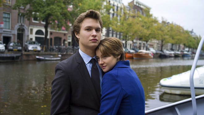 Shailene Woodley, with Ansel Elgort, in 'The Fault in Our Stars.'