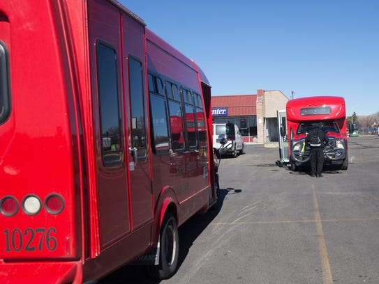 Red Apple Transit ridership has increased in recent years, increasing the need for a new transit hub, an agency official says.