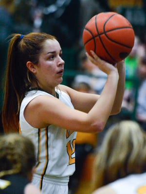York Catholic guard Kate Bauhof signed her National Letter of Intent on Wednesday, Nov. 8, to play Division I basketball at St. Francis College (New York) starting in 2018-19.
