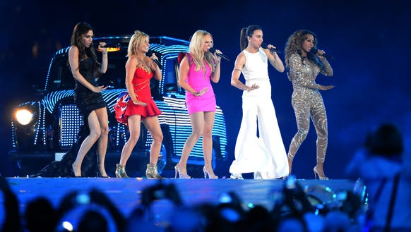 The Spice Girls reunited in 2012 to perform during the closing ceremony of the London Olympic Games.