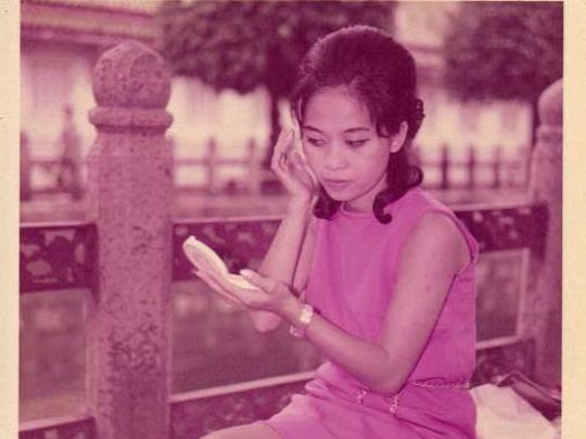 Patty Myint, the inspiration for Suzy Wong, as a young