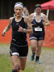 Sheena Dauer, 33, Montevideo, finishes Saturday as