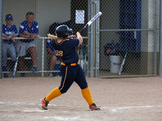 Mooresville's Gabby O'Riley is hitting .447 with six home runs and 24 RBIs.
